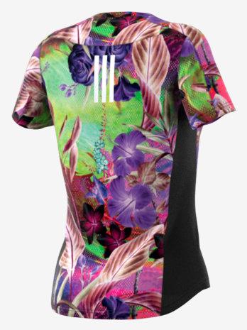 Majica kratki rukav FLORAL TEE W