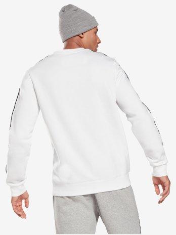 Majica dugi rukav TE Tape Crew        WHITE/BLACK